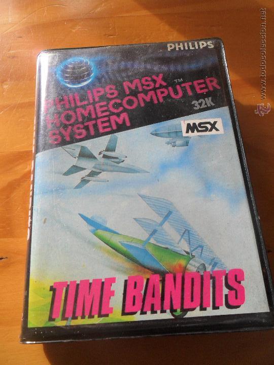 TIME BANDITS - JUEGO VIDEOCONSOLA PHILIPS MSX PAL ESPAÑA - COMPLETO -- (Juguetes - Videojuegos y Consolas - Msx)