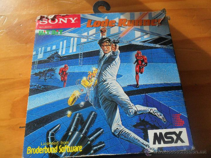 LODE RUNNER - JUEGO VIDEOCONSOLA PHILIPS MSX PAL ESPAÑA - COMPLETO -- (Juguetes - Videojuegos y Consolas - Msx)