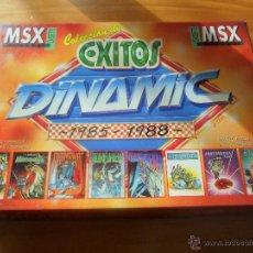Videojuegos y Consolas: PACK COLECCION DE EXITOS DINAMIC - JUEGO VIDEOCONSOLA PHILIPS MSX PAL ESPAÑA - COMPLETO --. Lote 53115376