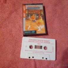 Videojuegos y Consolas: MSX FERNANDO MARTIN BASKEK MASTER EXECUTIVE VERSION 1986. Lote 53870918
