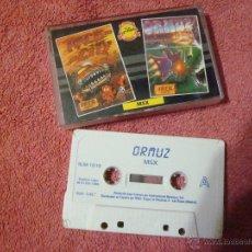 Videojuegos y Consolas: MSX ORMUZ + RACE CITY 1989. Lote 53892734