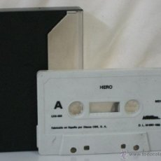 Videojuegos y Consolas: MSX *** CASETE VIDEOJUEGO HERO *** PRODUCIDO POR CBS *** SÓLO CASETE ***. Lote 54155899