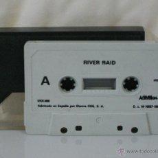 Videojuegos y Consolas: MSX *** CASETE VIDEOJUEGO RIVER RAID *** PRODUCIDO POR CBS ACTIVISION AÑO 1985 *** SÓLO CASETE ***. Lote 54155928