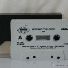 Videojuegos y Consolas: MSX *** CASETE VIDEOJUEGO HOWARD THE DUCK *** CBS AÑO 1987 *** SÓLO CASETE *** . Lote 54158331