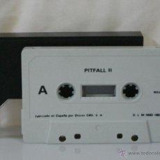 Videojuegos y Consolas: MSX *** CASETE VIDEOJUEGO PIT FALL II *** CBS AÑO 1985 *** SÓLO CASETE ***. Lote 54158347