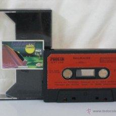 Videojuegos y Consolas: MSX *** CASETE VIDEOJUEGO BALLBLAZER *** LORICIELS *** CASETE + CAJA DE LA IMAGEN ***. Lote 54158753