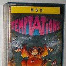 Videojuegos y Consolas: TEMPTATIONS [TOPO SOFT] 1988 ERBE SOFTWARE [MSX]. Lote 54293112
