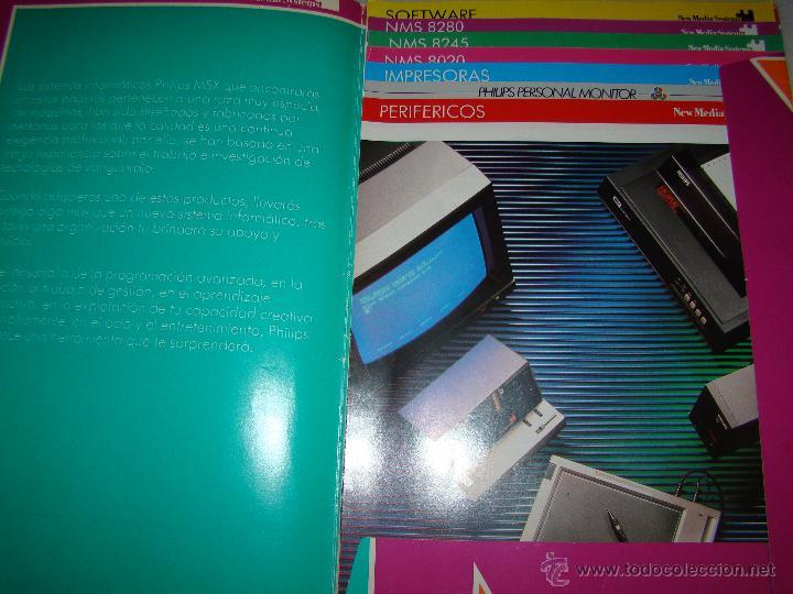 Videojuegos y Consolas: Antiguo catalogo PHILIPS MSX - Foto 2 - 54437656