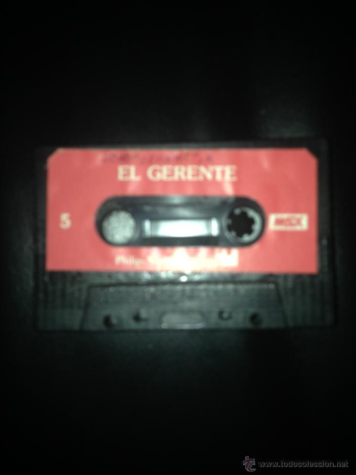 EL GERENTE Y DOMINO DOBLE CARA MSX MSX2 CINTA CASETE PHILIPS (Juguetes - Videojuegos y Consolas - Msx)