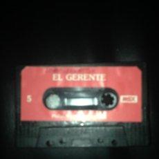 Videojuegos y Consolas: EL GERENTE Y DOMINO DOBLE CARA MSX MSX2 CINTA CASETE PHILIPS. Lote 54621821