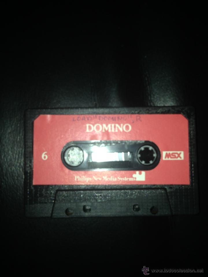 Videojuegos y Consolas: EL GERENTE Y DOMINO DOBLE CARA MSX MSX2 CINTA CASETE PHILIPS - Foto 2 - 54621821