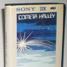 Videojuegos y Consolas: COMETA HALLEY [SONY ESPAÑA] 198X [MSX]. Lote 55102993