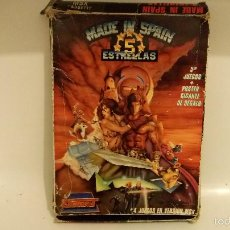 Videojuegos y Consolas: MADE IN SPAIN 5 ESTRELLAS ,ZIGURAT MSX CON POSTER E INTRUCCIONES. Lote 55530886