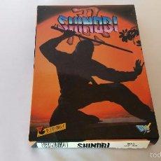 Videojuegos y Consolas: MSX JUEGO ORIGINAL SHINOBI. Lote 55570874