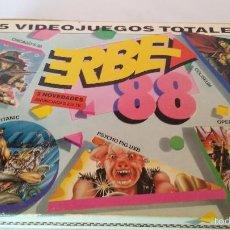 Videojuegos y Consolas: MSX JUEGO ORIGINAL ERBE 88. Lote 55571323