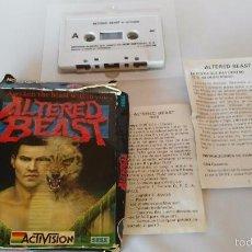 Videojuegos y Consolas: MSX JUEGO ORIGINAL ALTERED BEAST. Lote 55571530