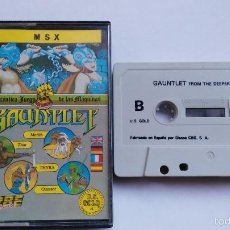 Videojuegos y Consolas: MSX JUEGO ORIGINAL GAUNTLET. Lote 55571684
