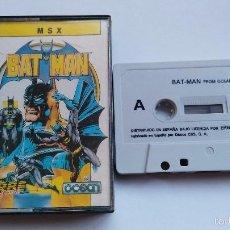 Videojuegos y Consolas: MSX JUEGO ORIGINAL BATMAN. Lote 55571700