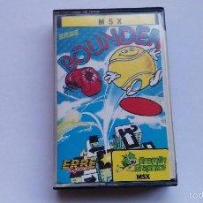 Videojuegos y Consolas: MSX JUEGO ORIGINAL BOUNDER. Lote 55571741