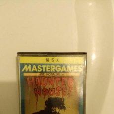 Videojuegos y Consolas: JUEGO HAUNTED HOUSE! MSX. Lote 55697378