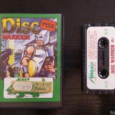 Videojuegos y Consolas: JUEGO MSX - DISC WARRIOR. Lote 56312096