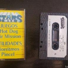 Videojuegos y Consolas: JUEGO MSX - STARS MSX NUMERO 1. Lote 56312523