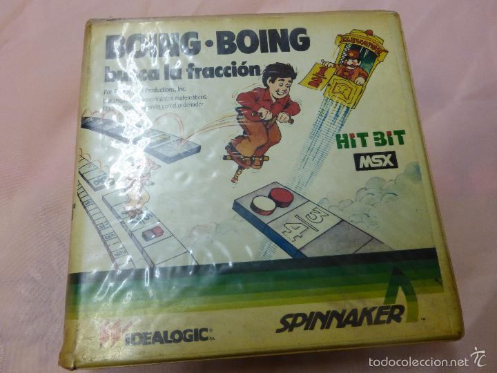 BOING BOING JUEGO COMPLETO MSX MSX2 - VIDEOCONSOLA AÑOS 80 - (Juguetes - Videojuegos y Consolas - Msx)