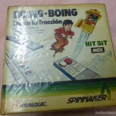 Videojuegos y Consolas: BOING BOING JUEGO COMPLETO MSX MSX2 - VIDEOCONSOLA AÑOS 80. Lote 56933625