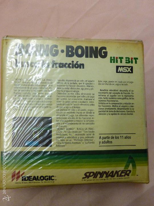 Videojuegos y Consolas: BOING BOING juego Completo MSX MSX2 - videoconsola años 80 - - Foto 2 - 56933625