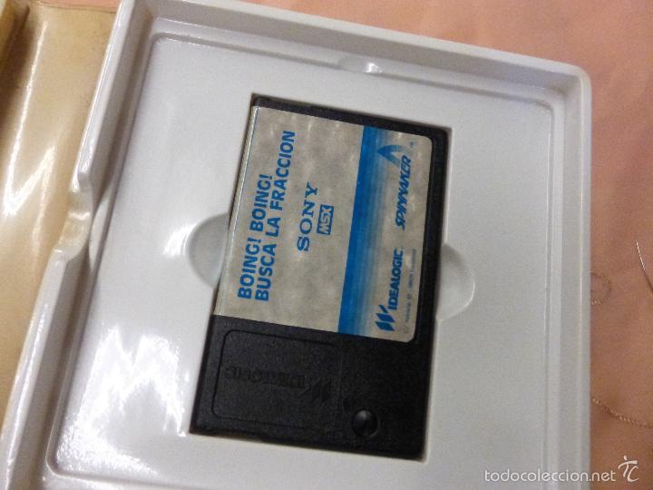 Videojuegos y Consolas: BOING BOING juego Completo MSX MSX2 - videoconsola años 80 - - Foto 3 - 56933625