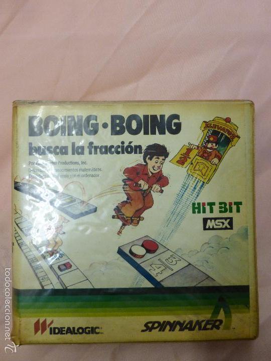 Videojuegos y Consolas: BOING BOING juego Completo MSX MSX2 - videoconsola años 80 - - Foto 6 - 56933625