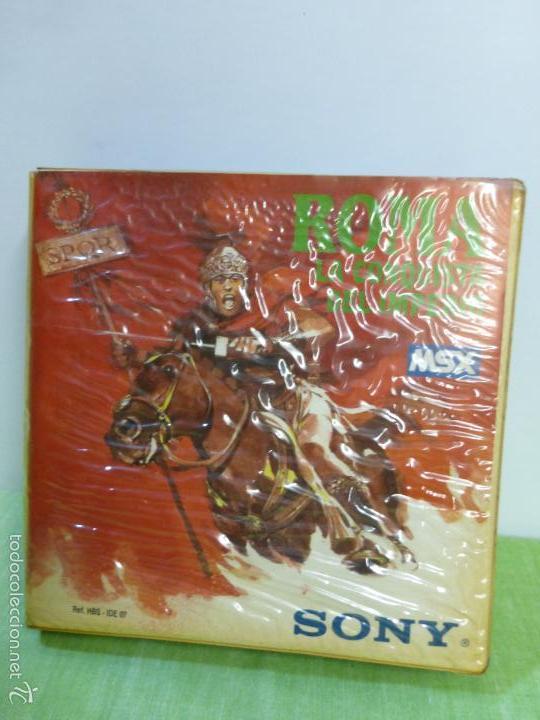 ROMA LA CONQUISTA DEL IMPERIO SONY MSX CASSETTE - IDEALOGIC | SONY (1986) - VIDEOCONSOLA AÑOS 80 - (Juguetes - Videojuegos y Consolas - Msx)