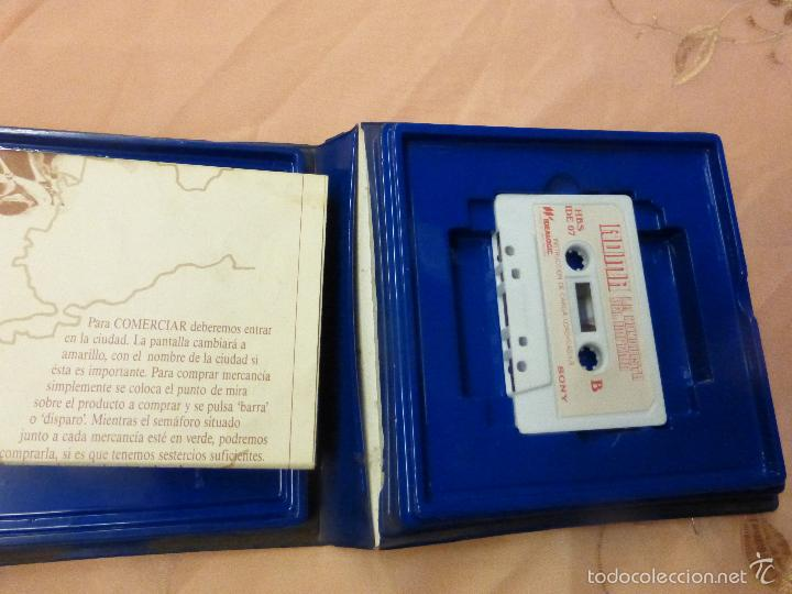 Videojuegos y Consolas: ROMA LA CONQUISTA DEL IMPERIO SONY MSX CASSETTE - IDEALOGIC | SONY (1986) - videoconsola años 80 - - Foto 3 - 56933896