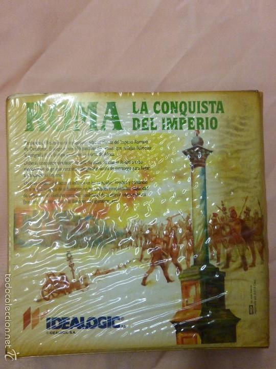 Videojuegos y Consolas: ROMA LA CONQUISTA DEL IMPERIO SONY MSX CASSETTE - IDEALOGIC | SONY (1986) - videoconsola años 80 - - Foto 4 - 56933896