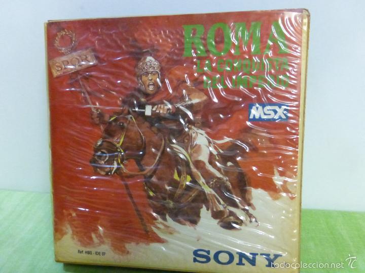 Videojuegos y Consolas: ROMA LA CONQUISTA DEL IMPERIO SONY MSX CASSETTE - IDEALOGIC | SONY (1986) - videoconsola años 80 - - Foto 5 - 56933896