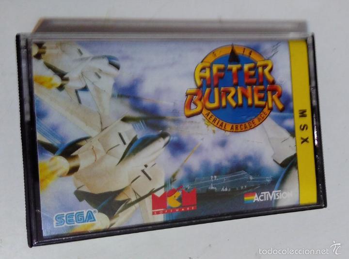 MSX CINTA - JUEGO AFTER BURNER (Juguetes - Videojuegos y Consolas - Msx)