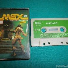 Videojuegos y Consolas: JUEGO MSX MAZIACS. Lote 57304933