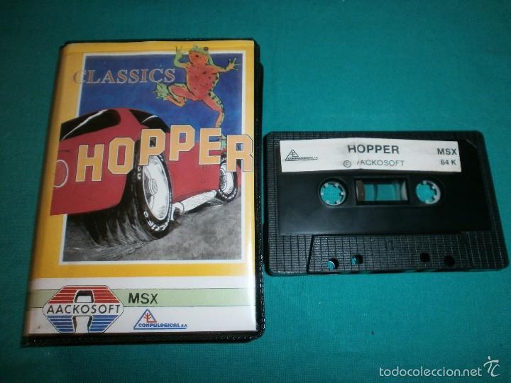 JUEGO MSX HOPPER (Juguetes - Videojuegos y Consolas - Msx)
