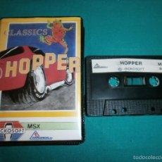 Videojuegos y Consolas: JUEGO MSX HOPPER. Lote 57304962
