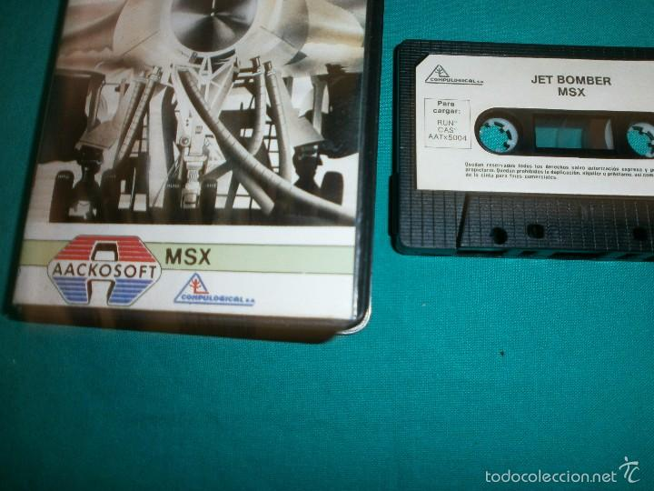JUEGO MSX JET BOMBER (Juguetes - Videojuegos y Consolas - Msx)