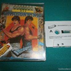 Videojuegos y Consolas: JUEGO MSX DRAGON NINJA. Lote 57305023