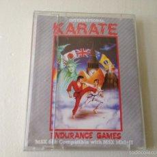 Videojuegos y Consolas: INTERNATIONAL KARATE MSX/JUEGO PARA ORDENADOR MSX /CARCASA ROTA. Lote 58518732