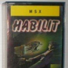 Videojuegos y Consolas: HABILIT [GENESIS SOFTWARE] 1988 - IBER SOFTWARE / MCM SOFTWARE [MSX]. Lote 58530964