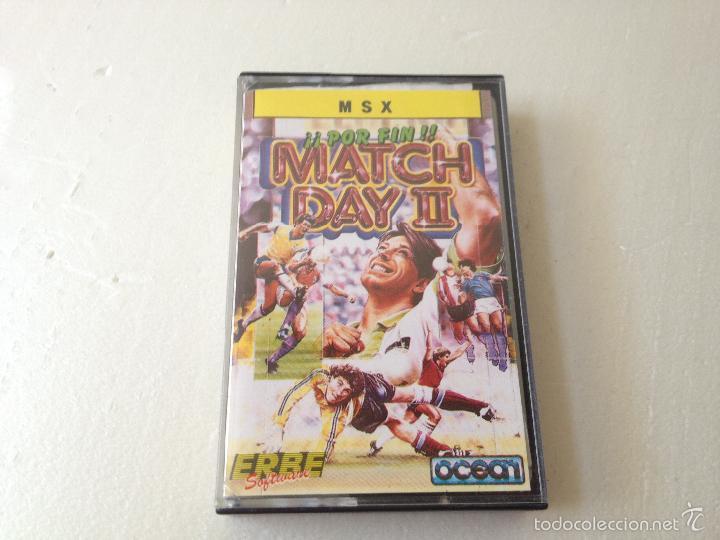 MATCH DAY 2 MSX/JUEGO PARA ORDENADOR MSX MATCH DAY 2 (Juguetes - Videojuegos y Consolas - Msx)
