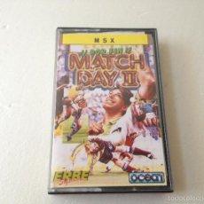 Videojuegos y Consolas: MATCH DAY 2 MSX/JUEGO PARA ORDENADOR MSX MATCH DAY 2. Lote 58904225