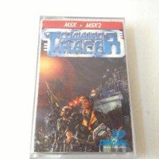 Videojuegos y Consolas: COMANDO TRACER MSX/JUEGO PARA ORDENADOR MSX COMANDO TRACER DE DINAMIC. Lote 58904785