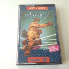 Videojuegos y Consolas: ROCKY MSX/JUEGO PARA ORDENADOR MSX ROCKY DE DINAMIC. Lote 58972260
