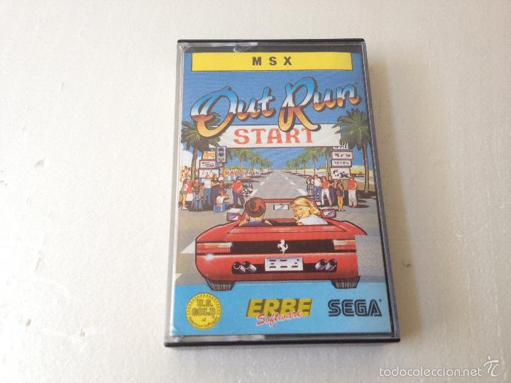 OUT RUN MSX/JUEGO PARA ORDENADOR MSX OUT RUN (Juguetes - Videojuegos y Consolas - Msx)
