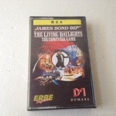 Videojuegos y Consolas: JAMES BOND 007 ALTA TENSION MSX/JUEGO PARA ORDENADOR MSX . Lote 59621747