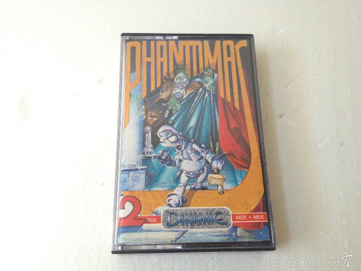 PHANTOMAS 2 MSX/JUEGO PARA ORDENADOR MSX DE DINAMIC (Juguetes - Videojuegos y Consolas - Msx)